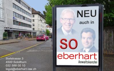 Eberhart Anwaltskanzlei neu auch in Solothurn